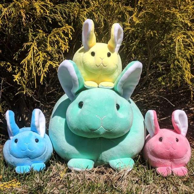 Macaroon Plush Bunnies from Douglas