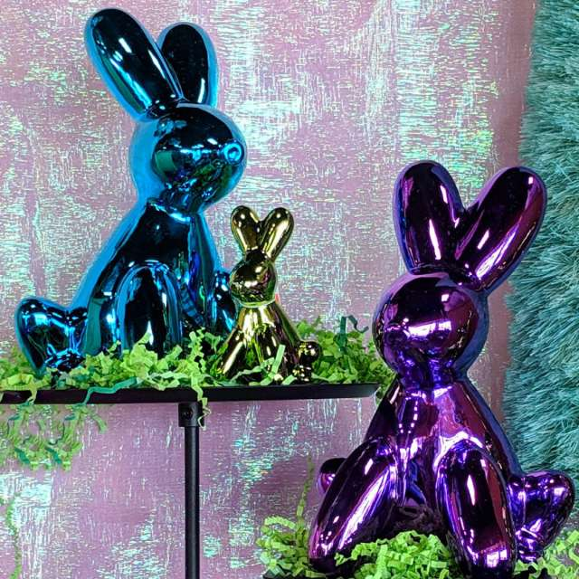 Ceramic Balloon Animal Rabbits from One Hundred 80degrees