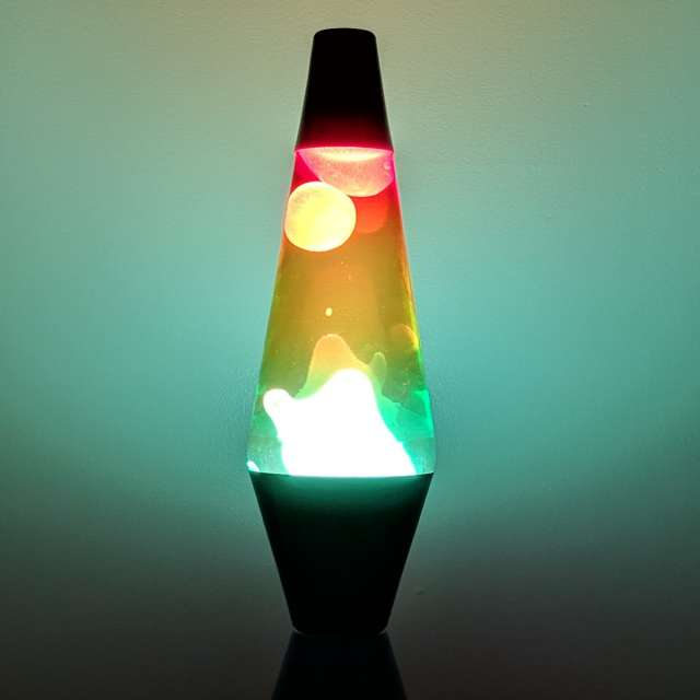 Colormax Wax Lava Lamp from The Original Lava Lamp Co