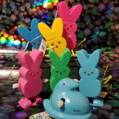 Peeps Bubbles and Wind Ups