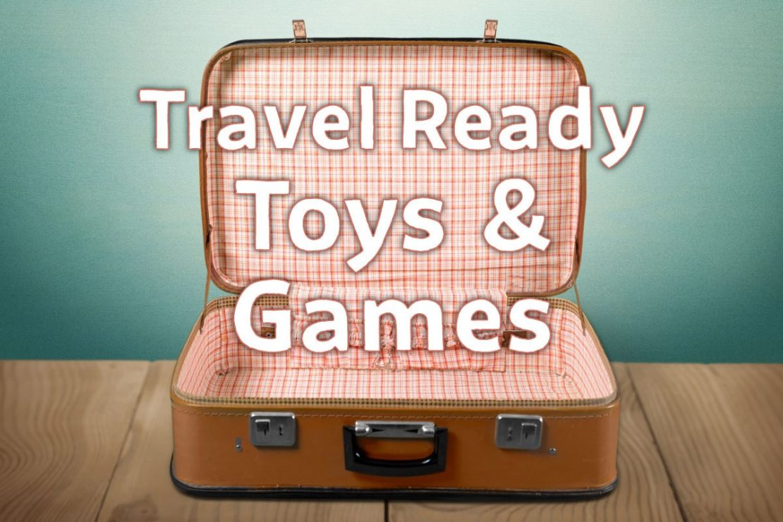 Travel Ready Toys & Games