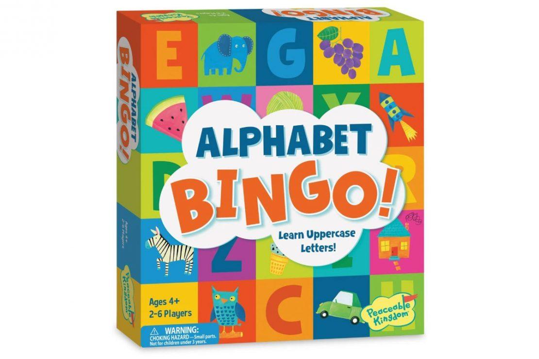 Alphabet Bingo from Peaceable Kingdom