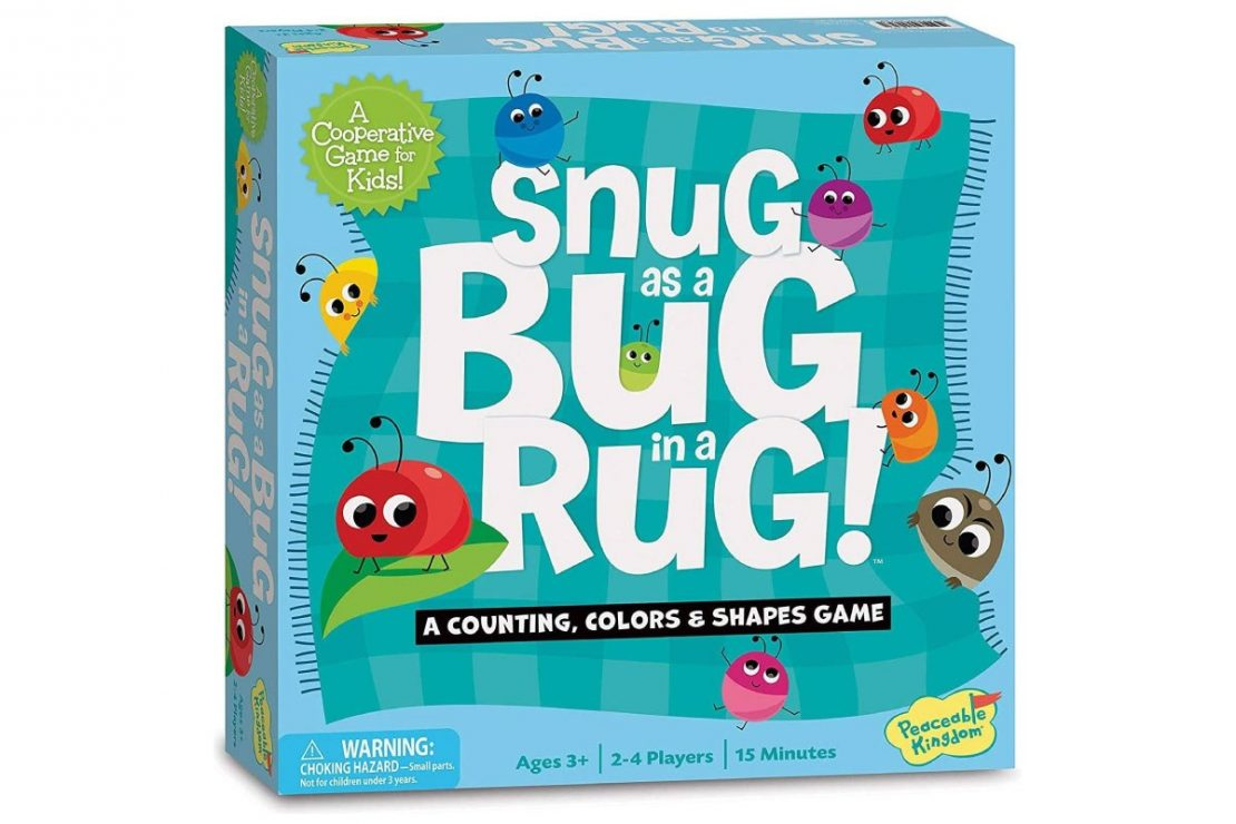 Snug as a Bug in a Rug Cooperative Game from Peaceable Kingdom