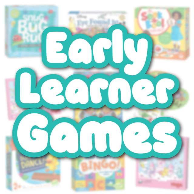 Early Learner Games Everyone Will Want to Play!