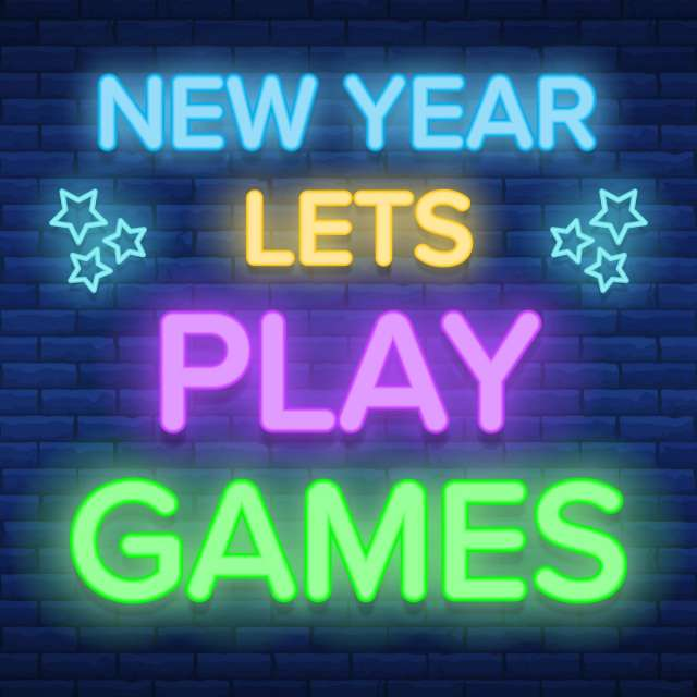 New Year Lets Play Games