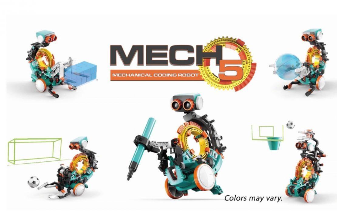 Mech-5 Robot from Elenco
