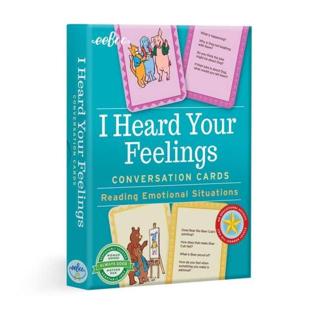 I Heard Your Feelings Conversation Cards from eeBoo