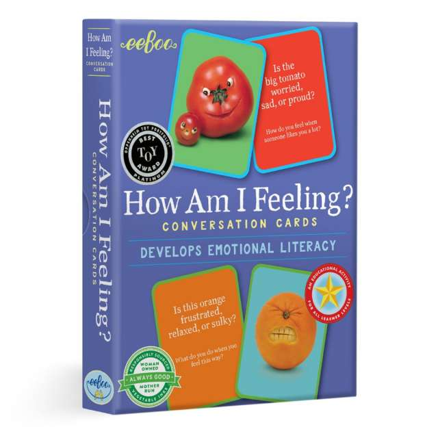 How Am I Feeling Conversation Cards from eeBoo