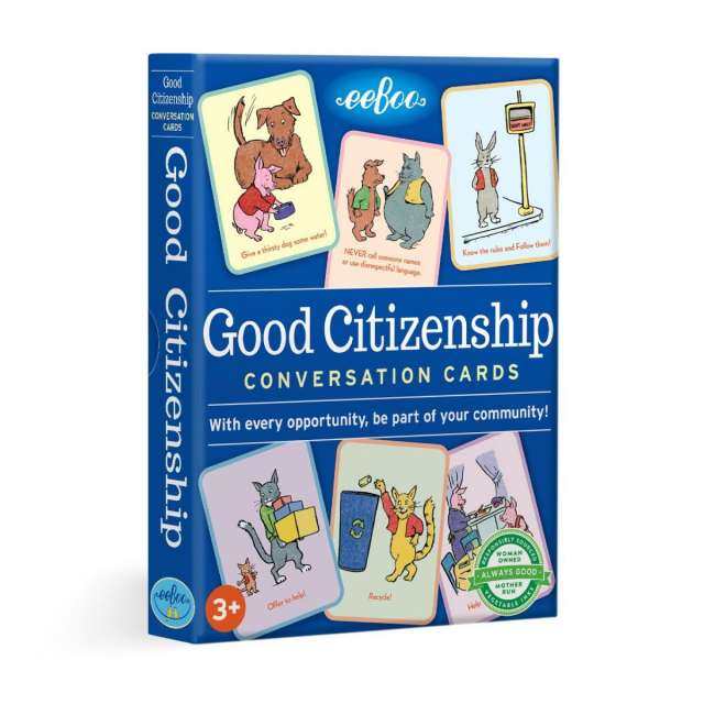 Good Citizenship Conversation Cards from eeBoo