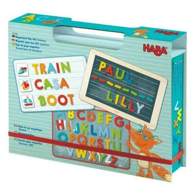 Magnetic ABC Expedition Set from Haba