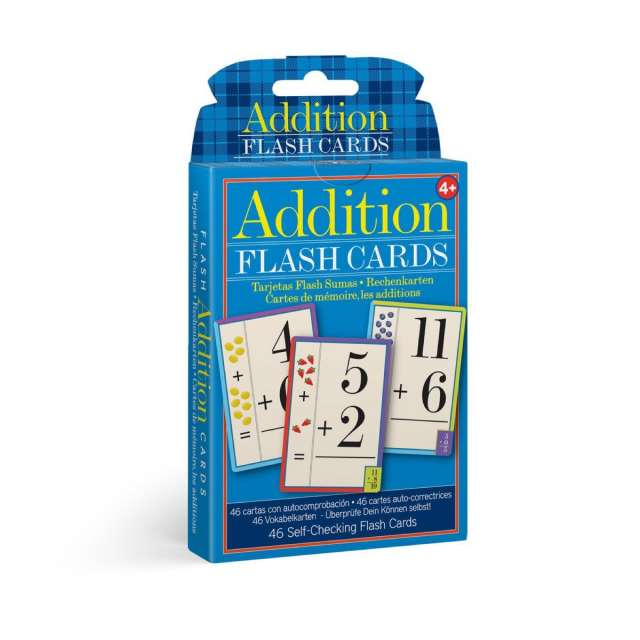 Addition Flash Cards from eeBoo