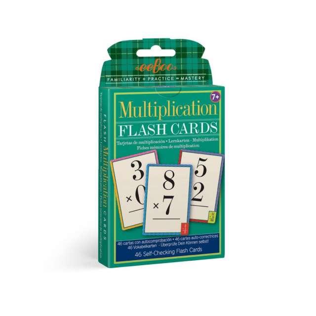 Multiplication Flash Cards from eeBoo