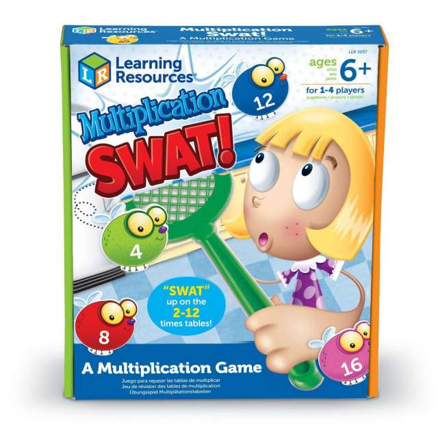 Multiplication Swat Game from Learning Resources