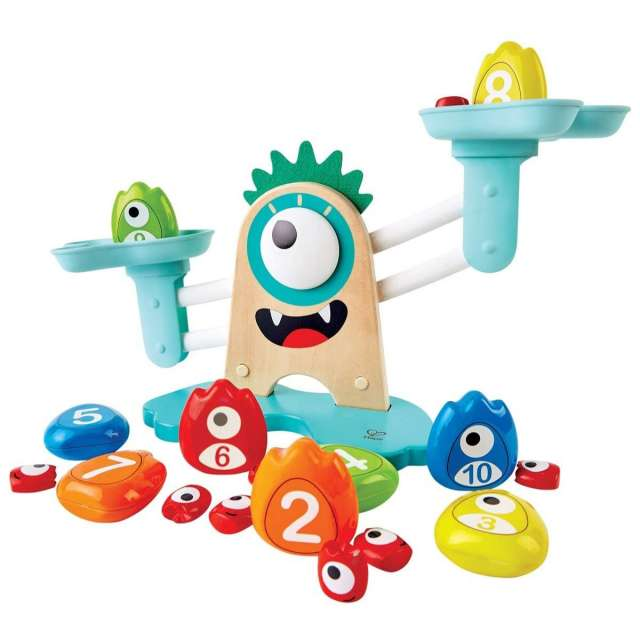 Monster Math Scale from Hape