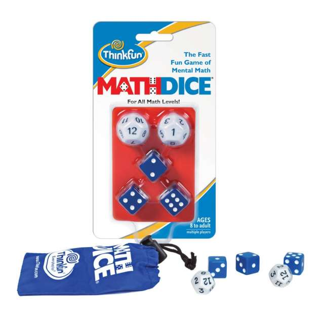 Math Dice from ThinkFun