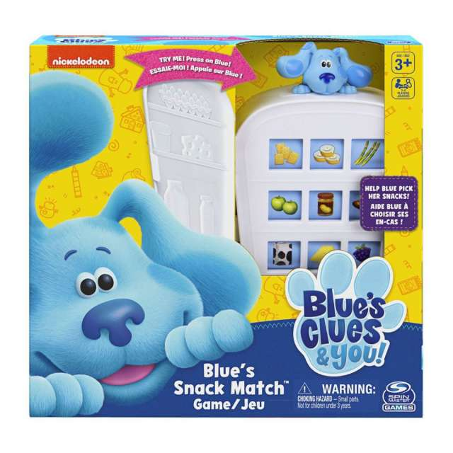 Nickelodeon's Blue's Clues Snack Match Game