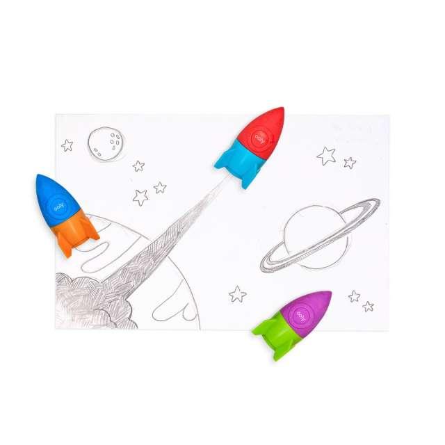 Blast Off Eraser & Pencil Sharpener from Ooly