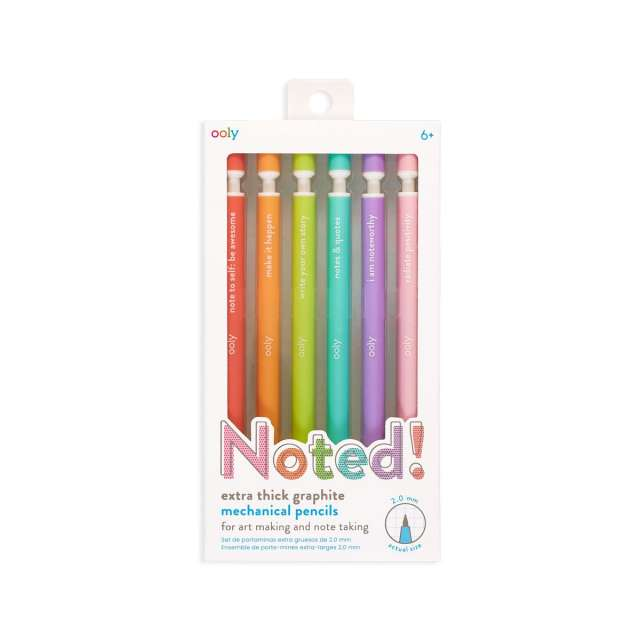 Noted Graphite Mechanical Pencils from Ooly