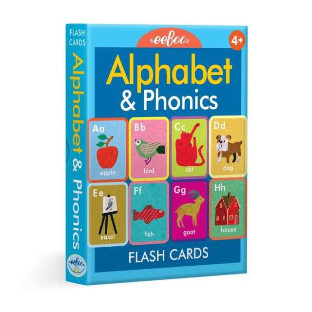 Alphabet & Phonics Flash Cards from eeBoo