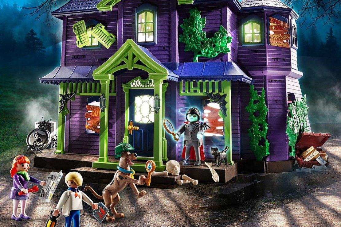 Scooby-Doo! Mystery Mansion Playmobil Set