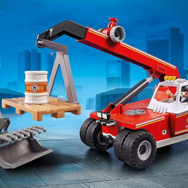 Fire Crane Playmobil Set