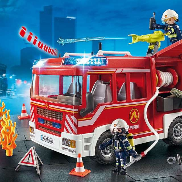 Fire Engine Playmobil Set