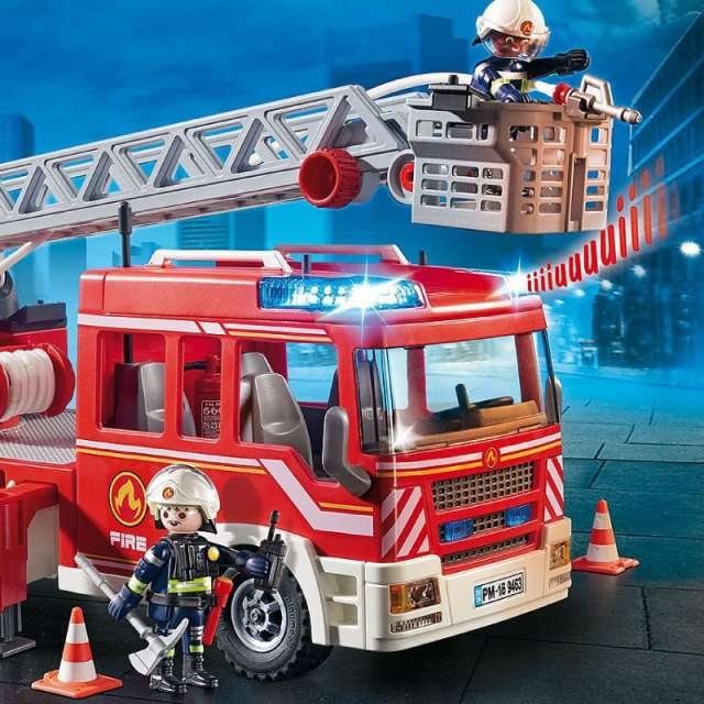 Fire Ladder Unit Playmobil Set