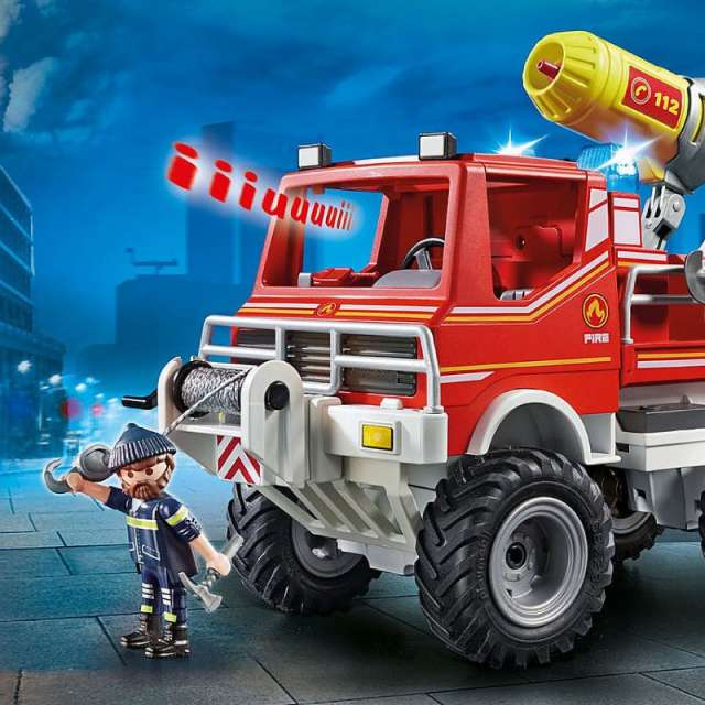 Fire Truck Playmobil Set