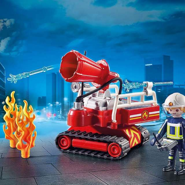 Fire Water Cannon Playmobil Set