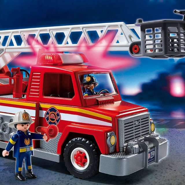 Rescue Ladder Unit Playmobil Set