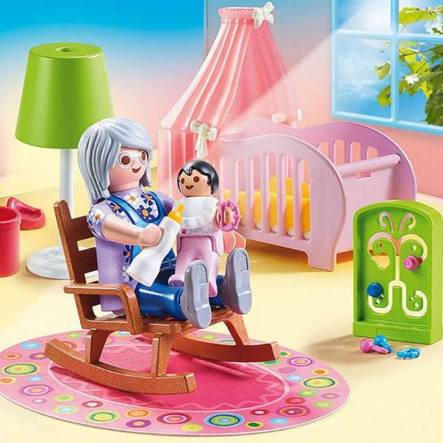 Nursery Playmobil Dollhouse Set