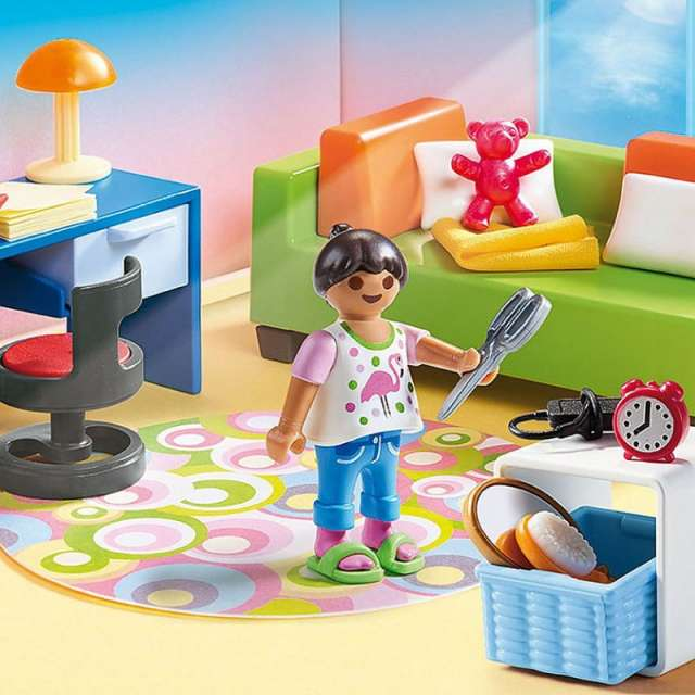 Teenager's Room Playmobil Dollhouse Set