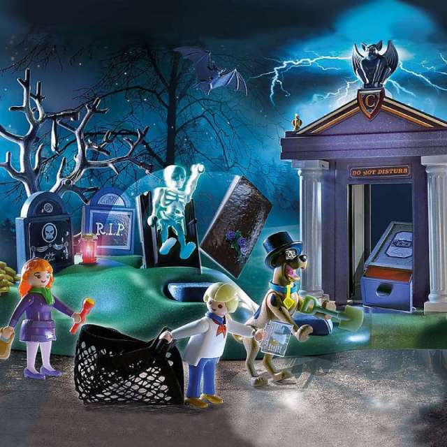 Scooby-Doo! Adventure in the Cemetery from Playmobil