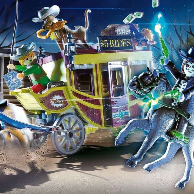 Scooby-Doo! Adventure in the Wild West from Playmobil