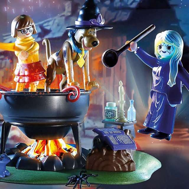 Scooby-Doo! Adventure in the Witch's Cauldron from Playmobil