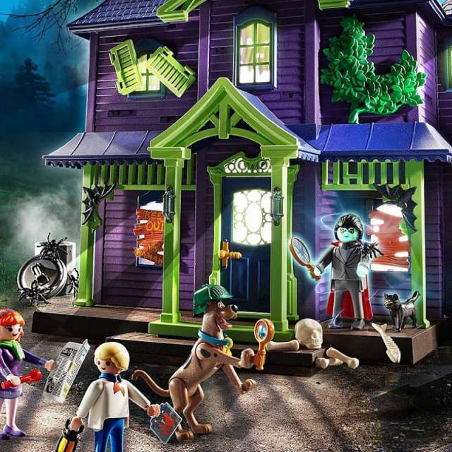 Scooby-Doo Mystery Mansion Set from Playmobil