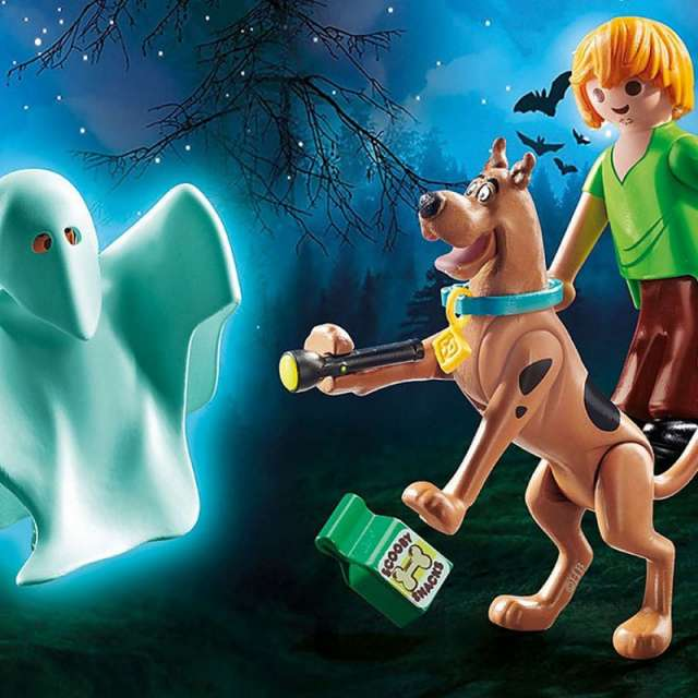 Scooby-Doo! Scooby & Shaggy with Ghost from Playmobil