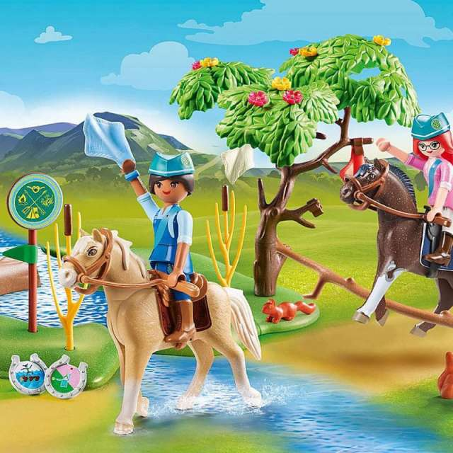 River Challenge Spirit Riding Free Playmobil Set