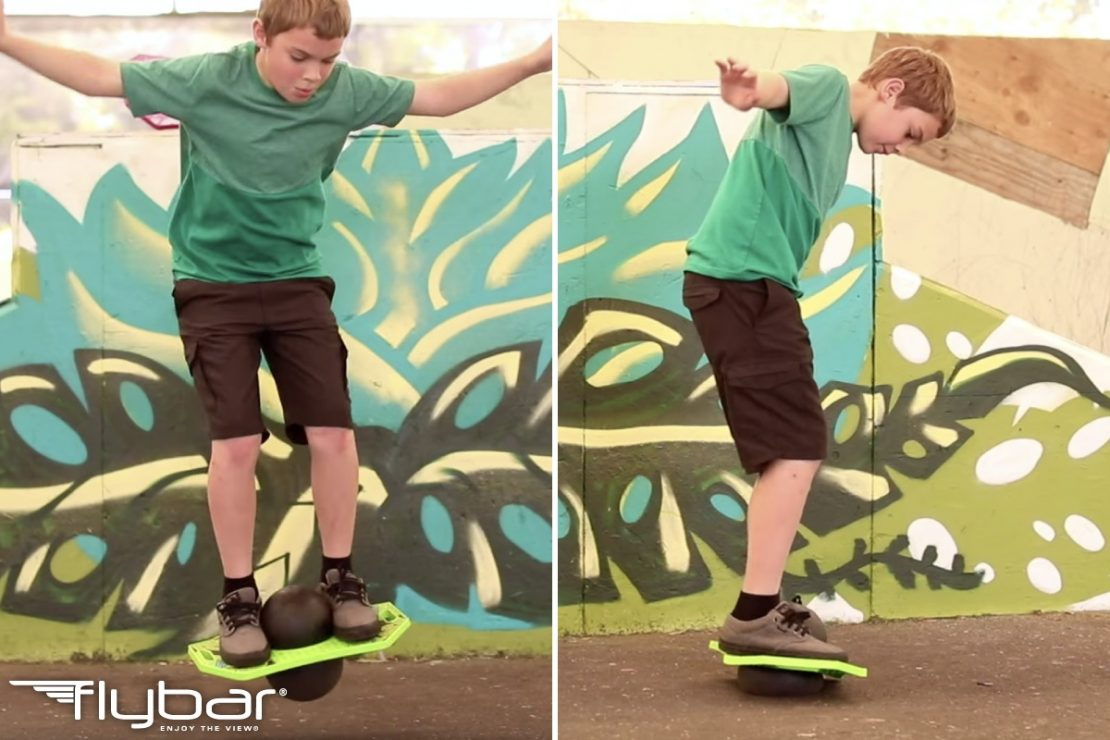 Flybar Pogo Trick Board