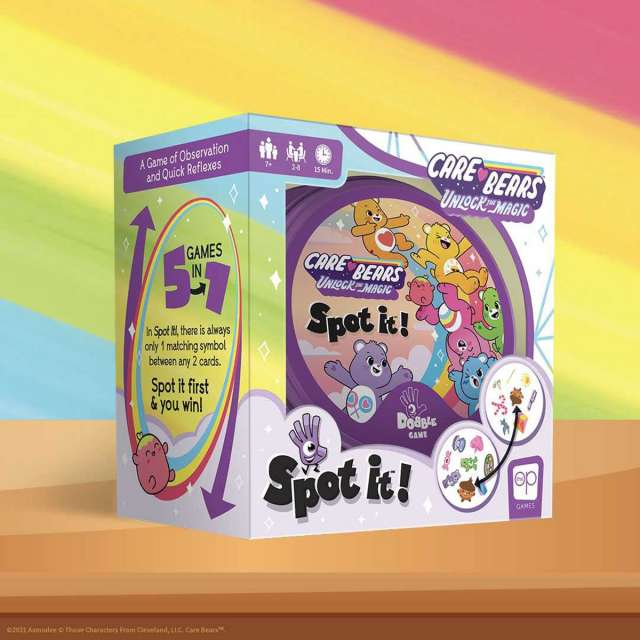 Spot It Care Bears from USAOpoly