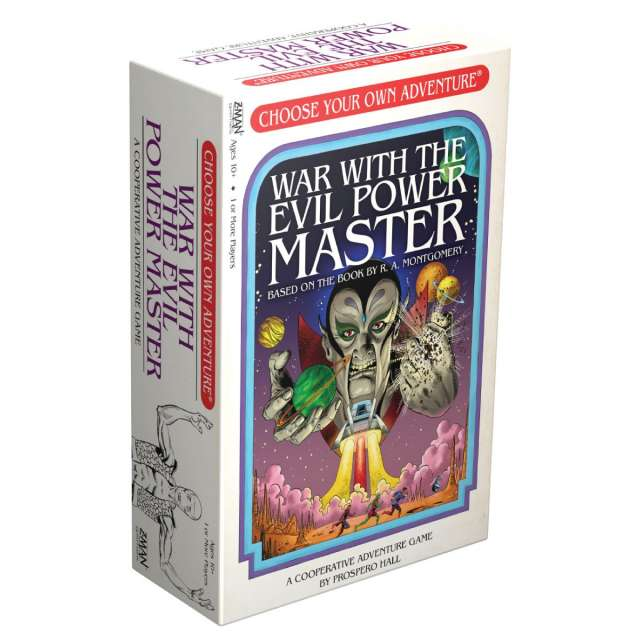 Choose Your Own Adventure: War with the Evil Power Master from Z-Man Games