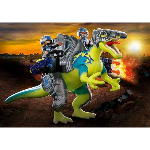 Dino Rise: Spinosaurus: Double Defense Power