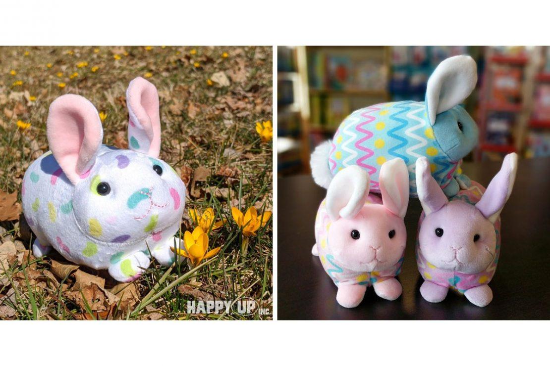 Jellybean Macaroon Bunny & Easter Egg Macaroon Bunnies from Douglas