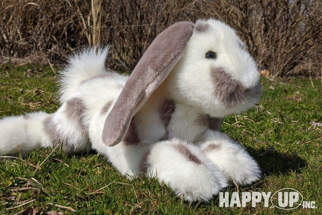 Douglas DLux Ramsey Grey Spotted Bunny