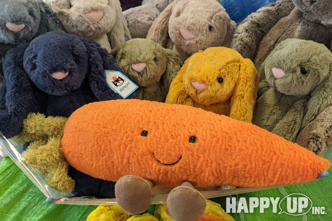 Jellycat Amuseable Large Carrot with Bashful Bunnies