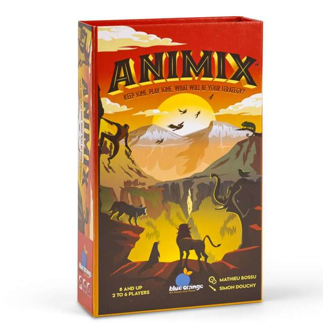 Animix Card Game from Blue Orange