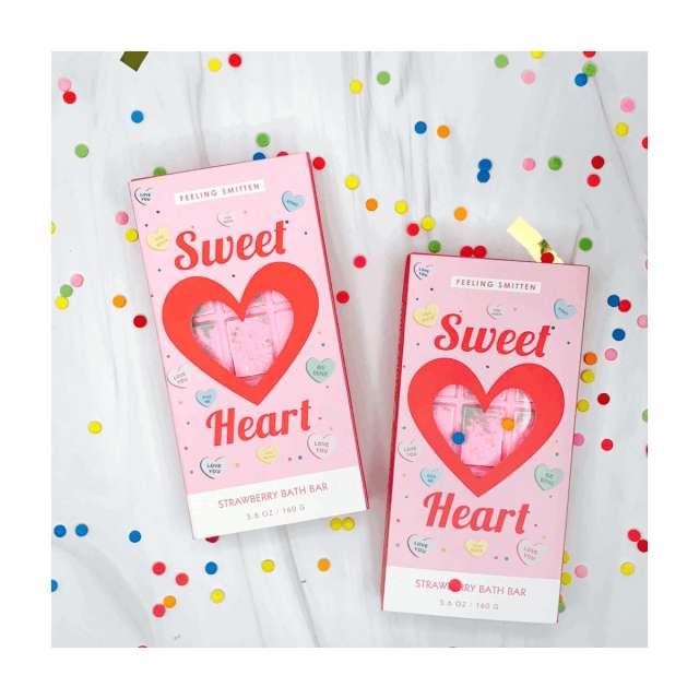 Sweet Heart Rainbow Bath Bar from Feeling Smitten