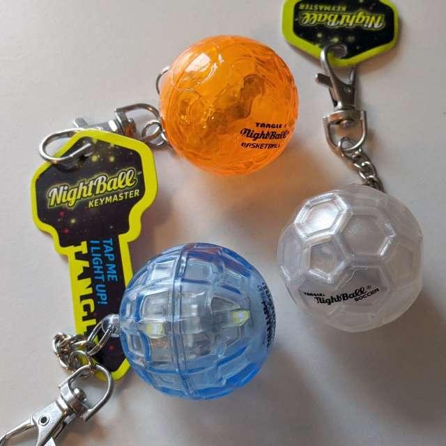 Nightball Light Up Keychains
