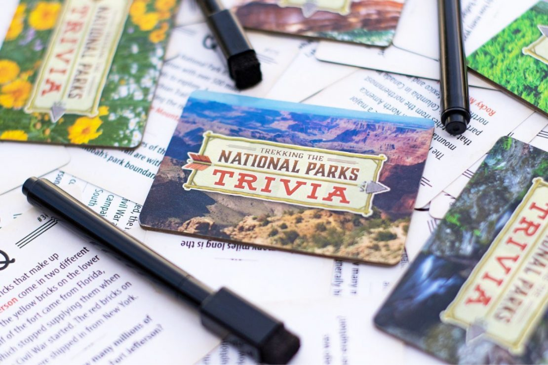 Trekking the National Parks Trivia Game