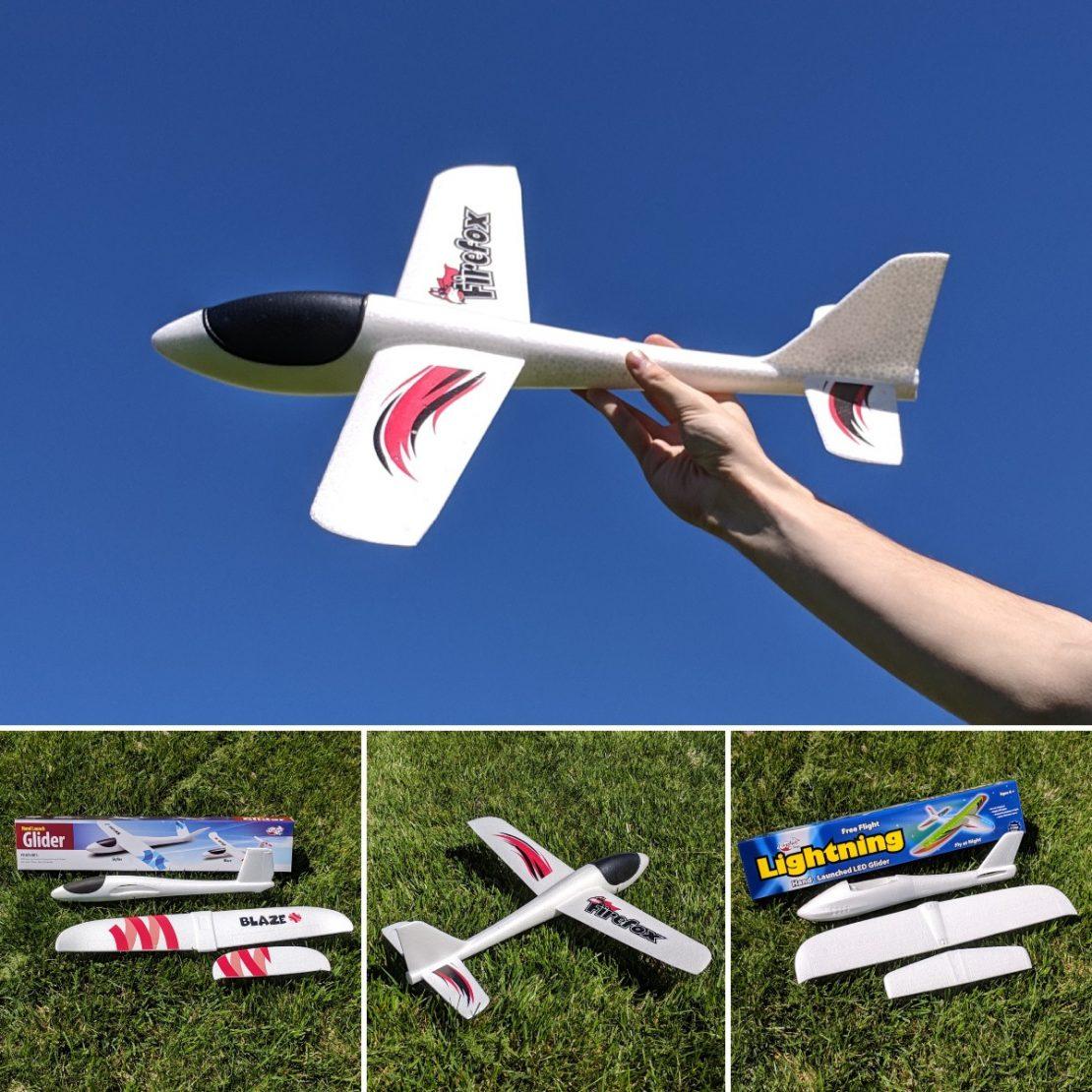 Foam Gliders from Firefox